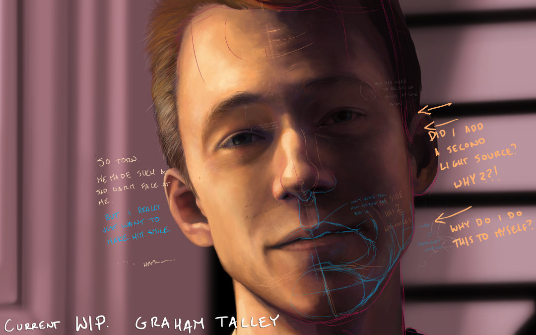 WIP: Drawing Graham Talley
