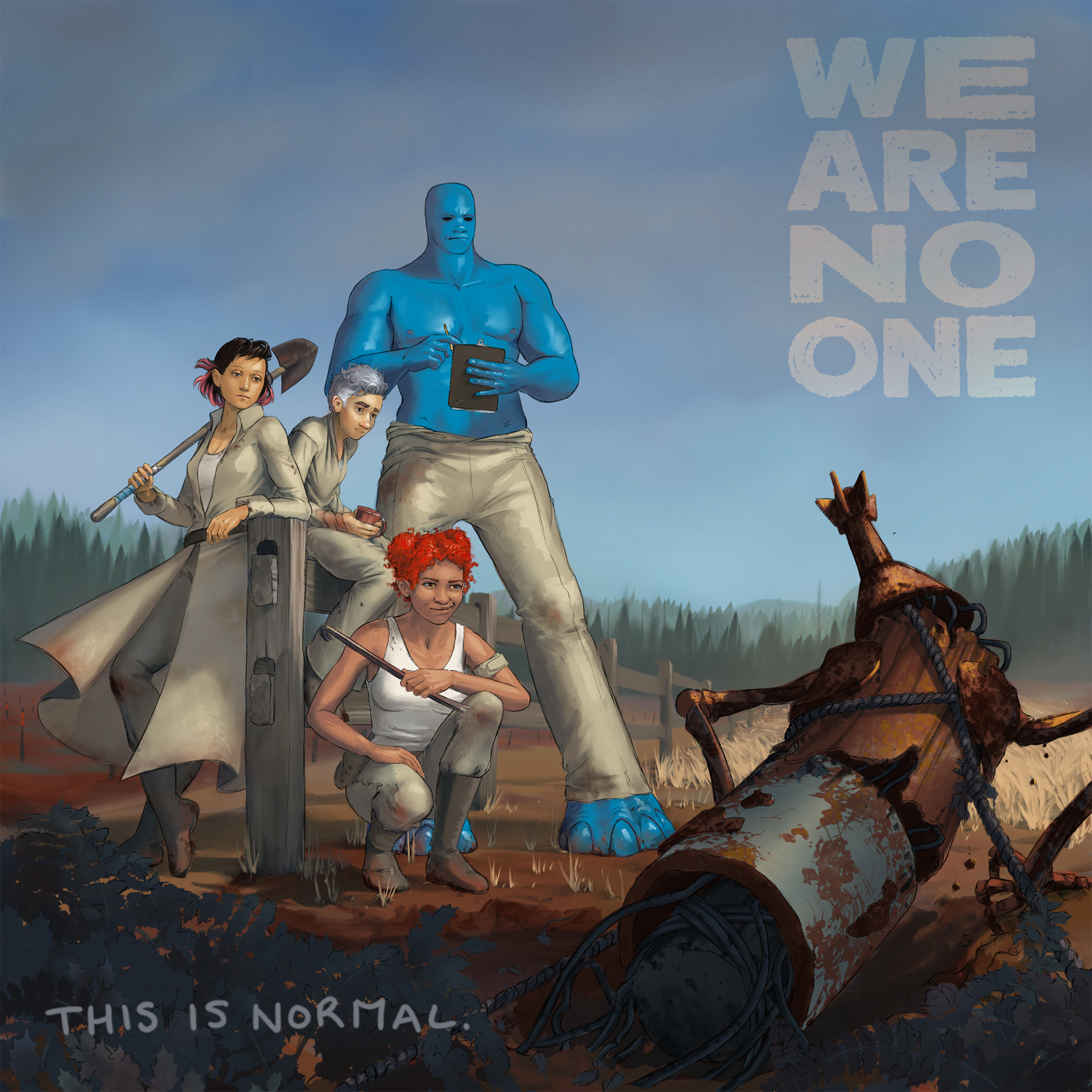 We Are No One: A Graphic Novel, preview image